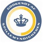 Spillemyndighedens logo indikerer, at den pågældende bookmaker har dansk licens og dermed skattefrie gevinster.