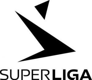 superliga logo hvid
