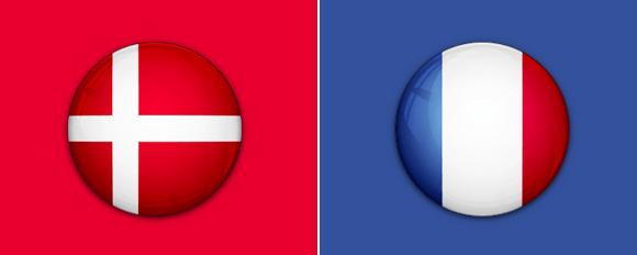 Frankreich Vs Dänemark