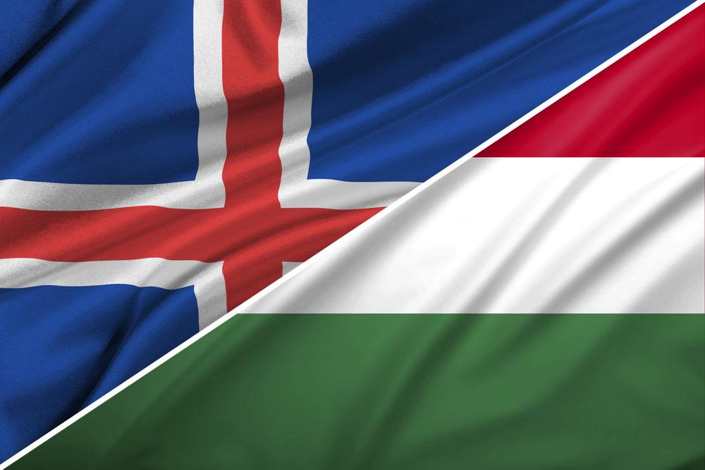 Island-Ungarn-flag