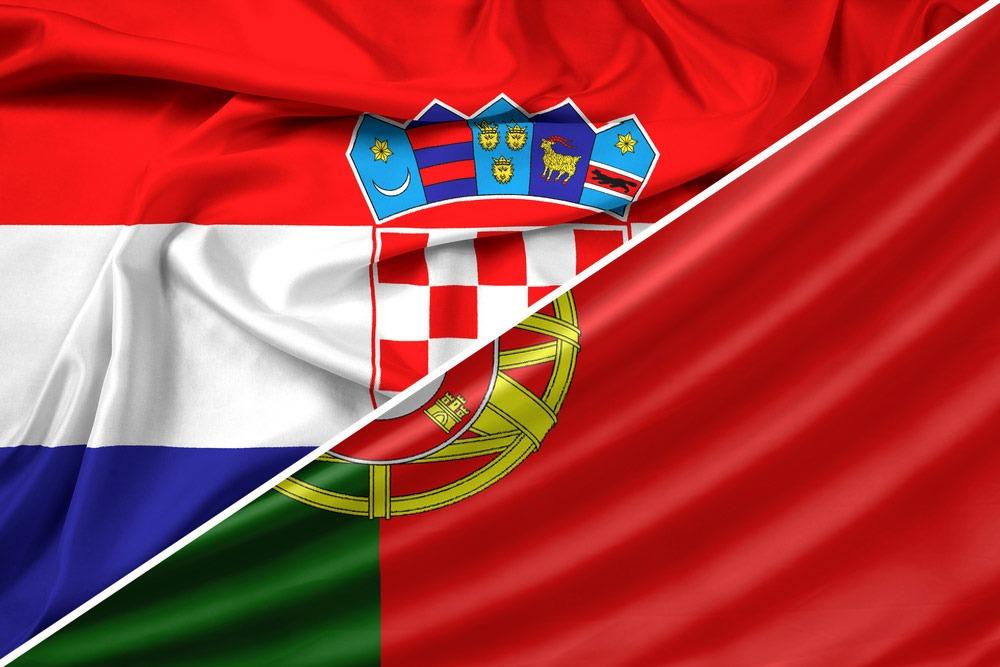 Kroatien-Portugal-flag