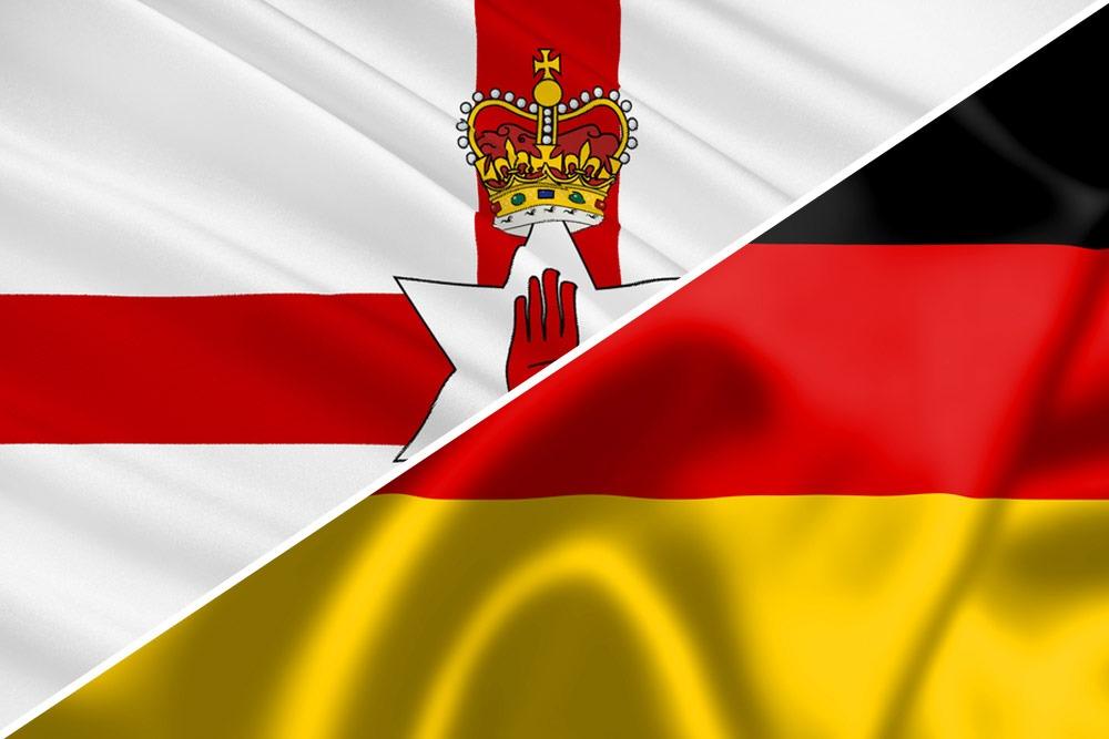 Nordirland-Tyskland-flag
