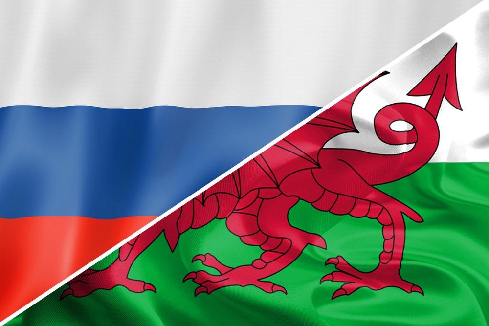 Rusland-Wales-flag