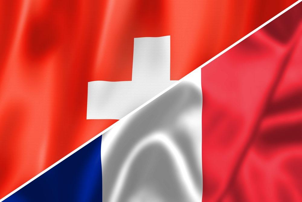 Schweiz-Frankrig-flag