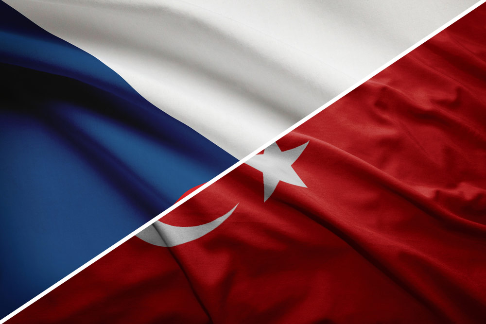 Tjekkiet-Tyrkiet-flag