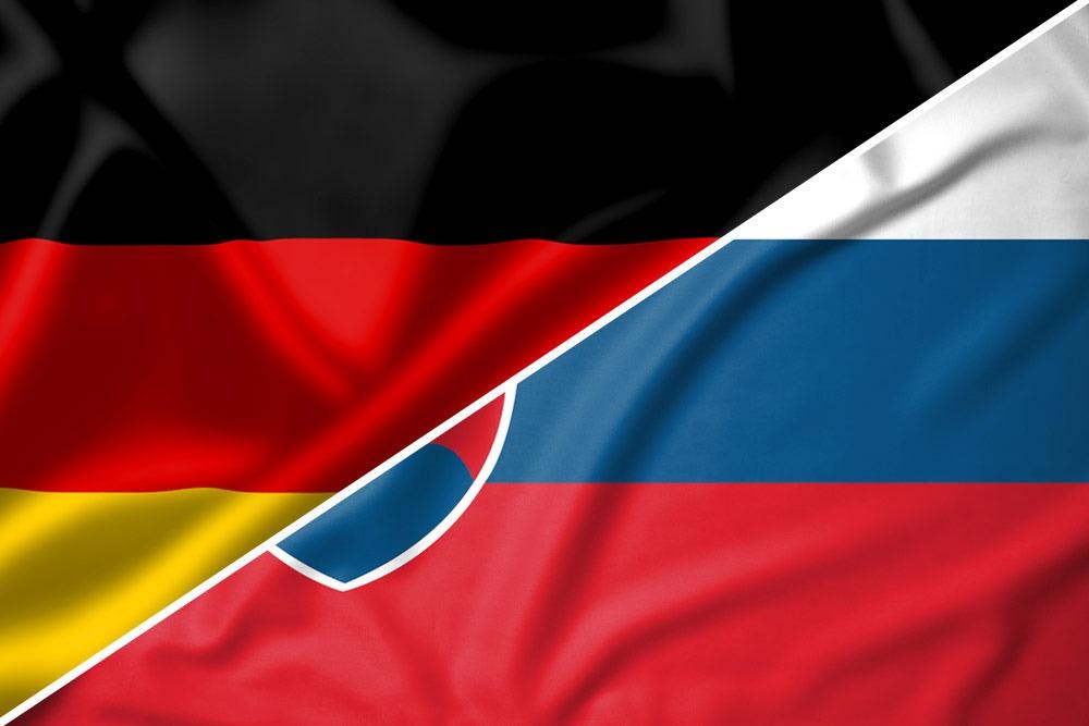 Tyskland-Slovakiet-flag