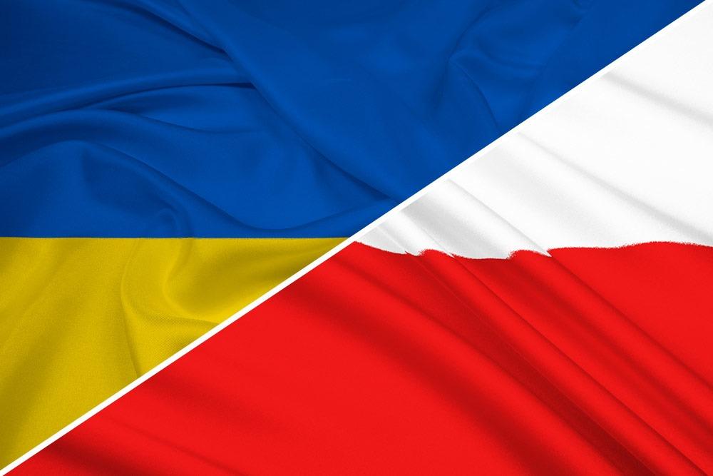 Ukraine-Polen-flag