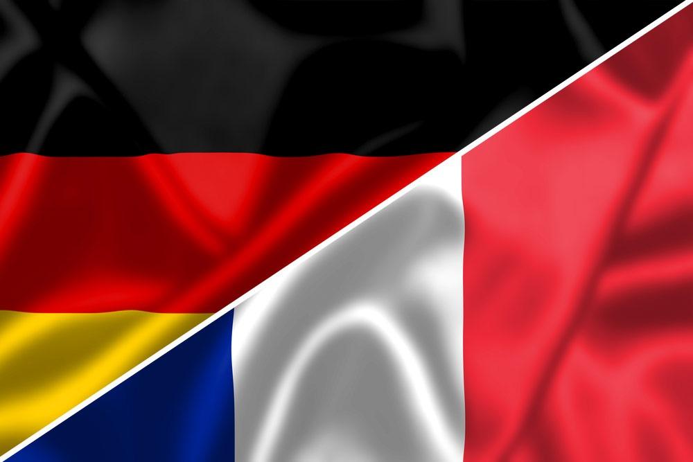 Tyskland-Frankrig-flag