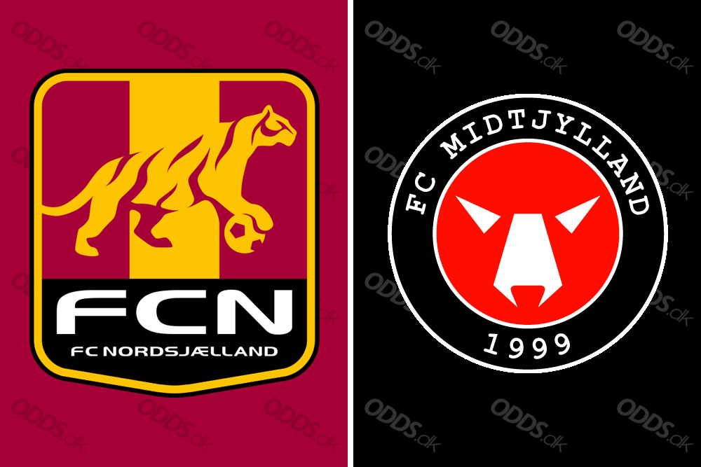 FC Nordsjælland - FC Midtjylland - logo