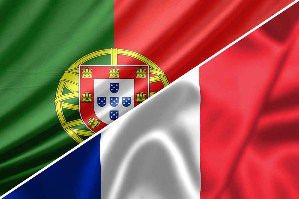 portugal-frankrig-flag