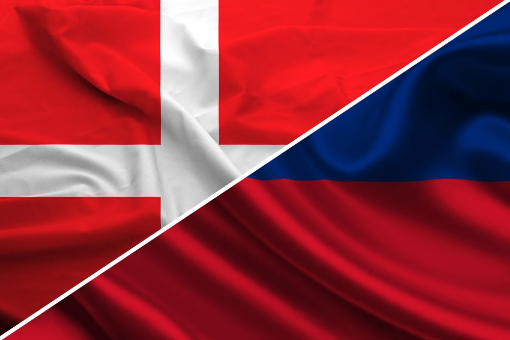 danmark-Liechtenstein-flag