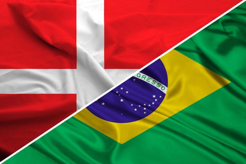 brasilien dänemark