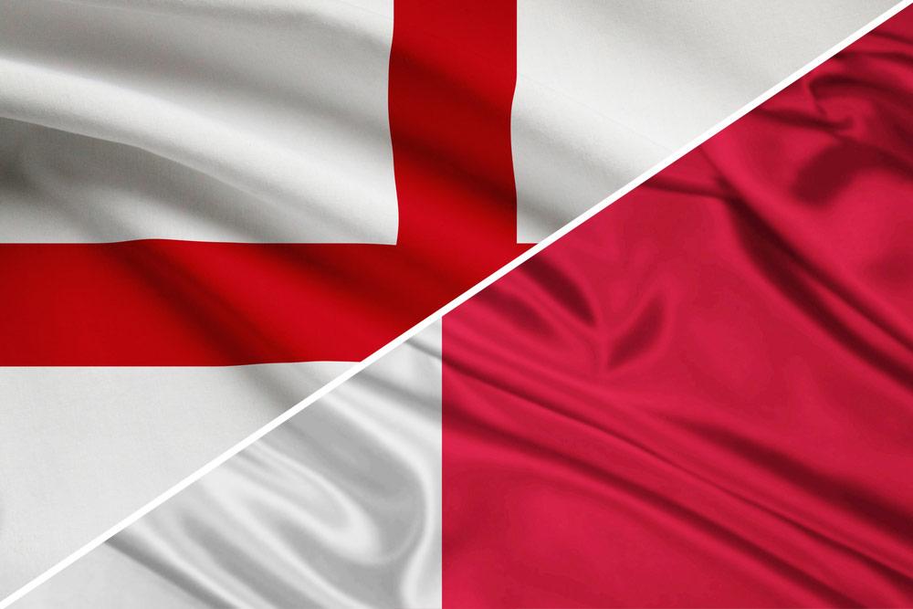 england-malta-flag