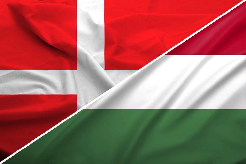danmark-ungarn-flag